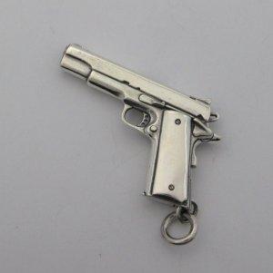 画像5: コルトガバメント シルバー925 ミニチュアガン ペンダントトップ M1911A1 Coltgovernment